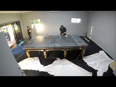 Wiraka Billiard Table Timelapse Build
