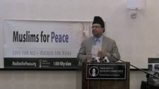 Muslims for Peace Press Conference NYC