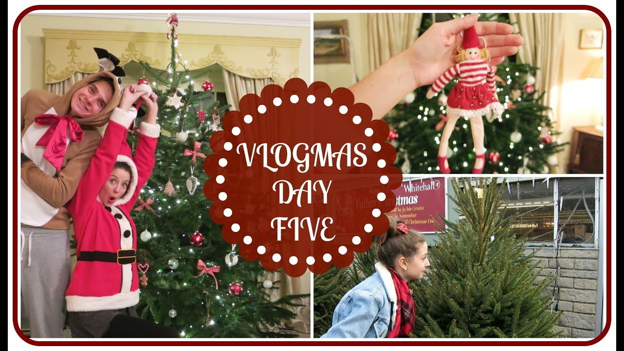 sc 1 st  YouTube & Buying And Decorating The Christmas Tree | VLOGMAS - YouTube