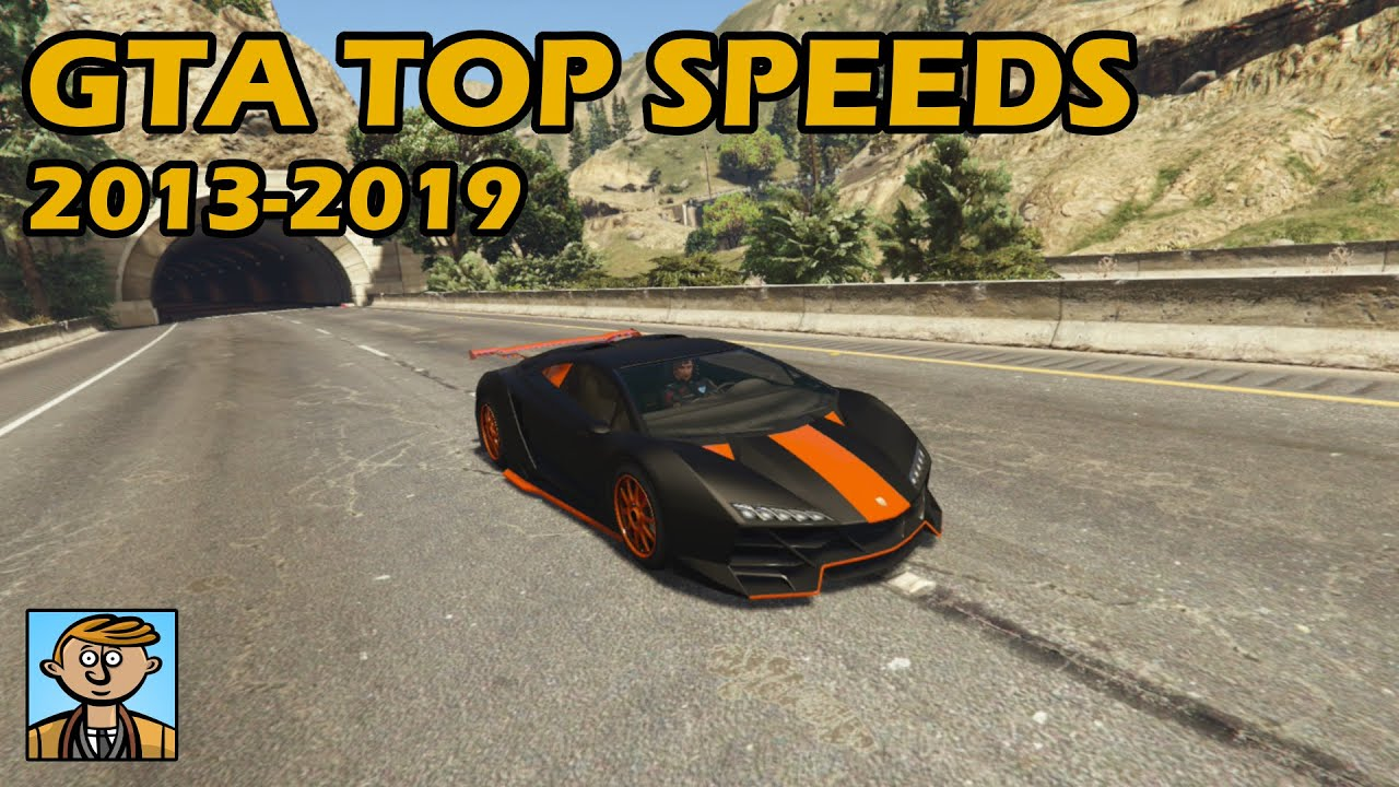 Fastest Cars From Each Year (2013-2019) - GTA 5 Best Fully Upgraded Cars  Top Speed Countdown