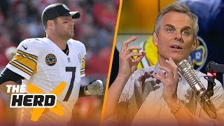 Colin Cowherd describes the AFC North franchises using motor vehicles | THE HERD