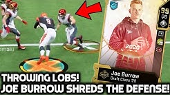 JOE BURROW SHREDS THE DEFENSE! DROPPING DIMES! Madden 20 Ultimate Team