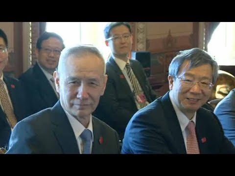 Vice Premier Liu He visits Washington for China-U.S. trade talks