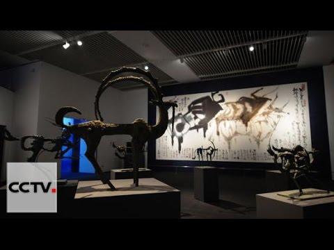 Museo Nacional de China acoge exhibición de renombrado artista chino Han Meilin