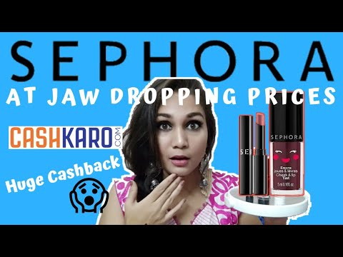 Sephora at Jaw Dropping Prices | cashkaro CASHBACK deal for NNNow