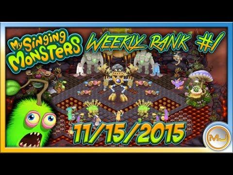 My Singing Monsters - [HQ Audio] Weekly Rank #1  (November 15 2015) |MP3 DOWNLOAD|