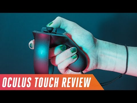 Oculus Touch VR motion controller review