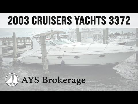 Brokerage 2003 Cruisers Yachts 3372 - by Annapolis Yacht Sales