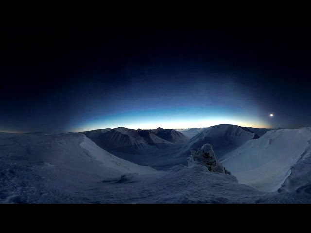 Total Solar Eclipse in Svalbard, 2015 (360 Panorama)