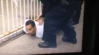 Caught-on-camera arrest of suspect in deadly Queens stabbing