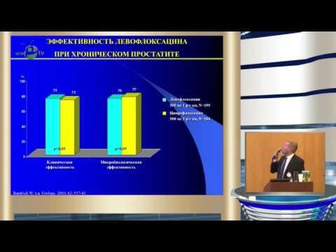 Попов С В - Левофлоксацин в лечении хронического бактериального простатита