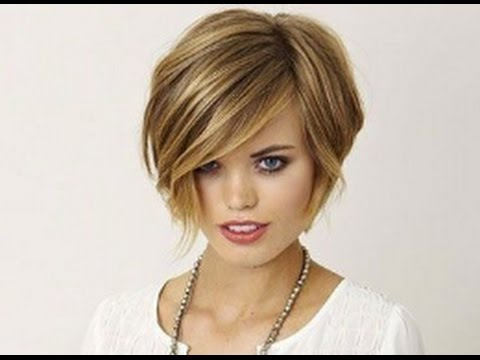 Short Blunt Haircuts For Fine Hair Youtube