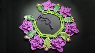 Воротник крючком Crochet collar