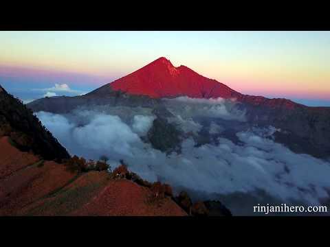 Trekking Mt Rinjani - Lombok 2017 With Rinjani Hero.
