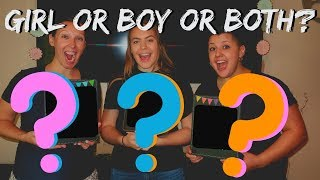 Triplet Gender Reveal Shenanigans