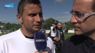 Interviews nach dem Testspiel gegen den Rostocker FC