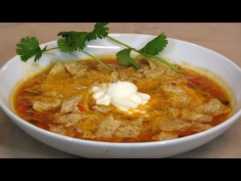 Mexican Chicken Soup – Lynn's Recipes