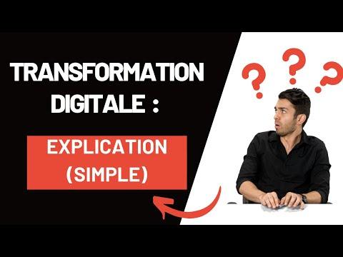 C'est quoi la Transformation Digitale ? Définition (PAS Digitalisation)😇