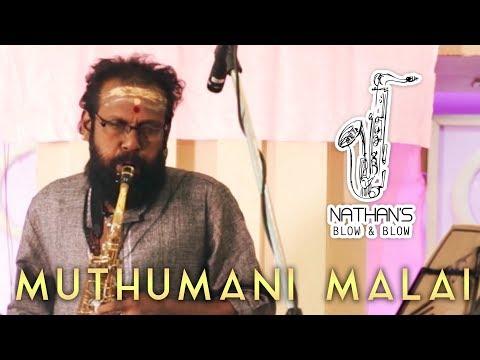 Muthumani Malai -  Chinna Gounder | Sax Cover by Nathan | Nathan's Blow & Blow | Ilaiyaraaja