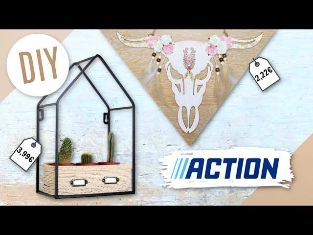 DIY ACTION : ASTUCES DECO BOHO Facile & Pas Chère !