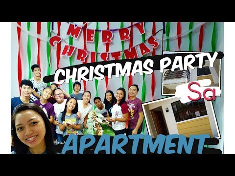 CHRISTMAS PARTY SA APARTMENT with Xander Ford????