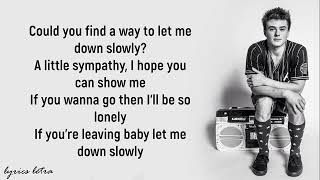 Let Me Down Slowly  Lyrics  Alec Benjamin