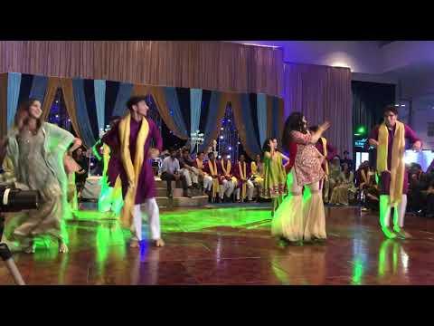 Hawa Hawa + High Rated Gabru Mehndi Dance 2018