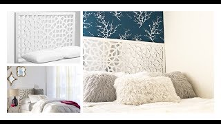 HOW TO: DIY A WEST ELM INSPIRED MIRRORED HEADBOARD -INEXPENSIVE HOME DECOR!