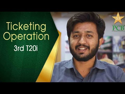 The Ticketing Operations | Pakistan vs Sri Lanka T20 Lahore | PCB