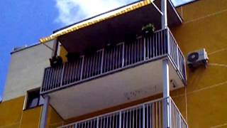 Балконные маркизы Italia (опускание на 180°)(, 2016-06-13T08:29:24.000Z)