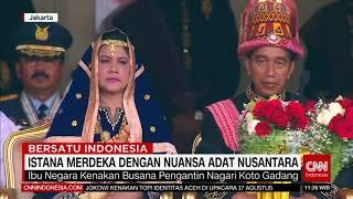 Istana Merdeka Dengan Nuansa Adat Nusantara, Jokowi Kenakan Pakaian Adat Aceh - Stafaband