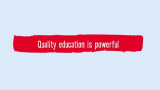 Quality Education for the World We Want