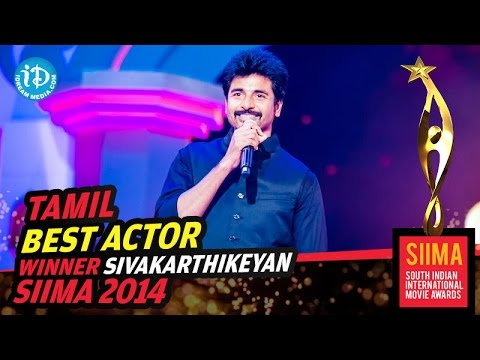 Kakki Sattai Sivakarthikeyan - SIIMA 2014 Tamil Best Actor | Ethir Neechal Movie