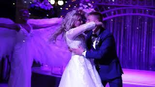 Первый танец молодых в Иркутске совместно с AlmaS ШОУ. Свадьба