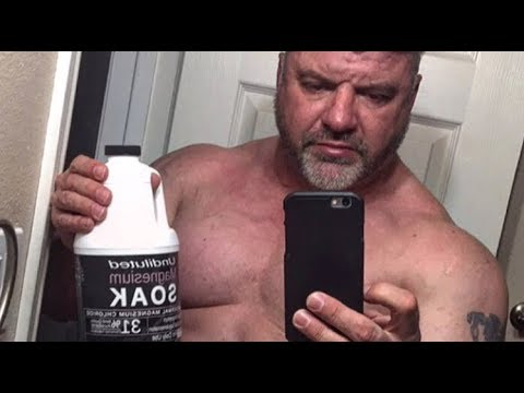 Big J Takes A Bath | Magnesium Soak | BigJsExtremeFitness