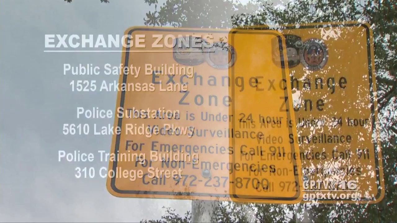 Safe Exchange Zone | City of Grand Prairie