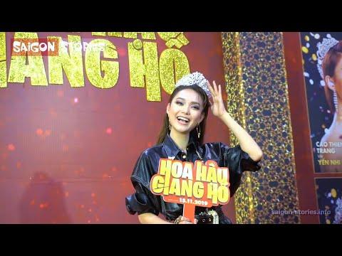 """Minh Hằng, Tăng Thanh Hà """"đọ sắc"""" cùng dàn hoa hậu người mẫu Minh Tú, Thanh Hằng trên thảm đỏ"""