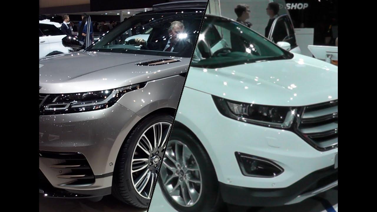 Range Rover Velar Vs Ford Edge