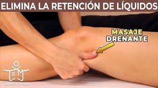 Las de en retención piernas líquidos leve