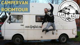 VW LT28 VANLIFE: Sommer wie Winter im Wohnmobil - Roomtour mit Mogli von LifeOfBalu