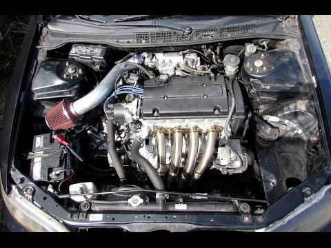 HOW TO 97-02 Accord Transmission Removal