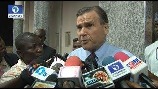 US Ambassador Visits Fayose, Stresses Need For A United Nigeria