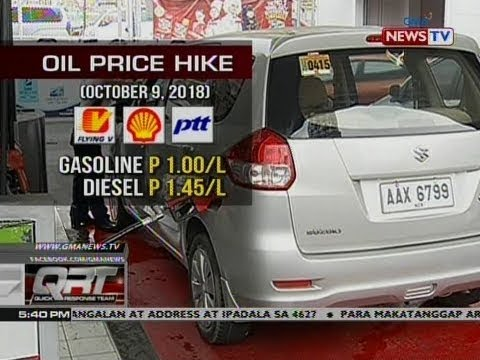 QRT: Oil price hike (October 9, 2018)