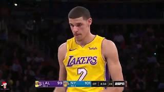 Lonzo Ball FULL Lowlights 2017-12-12 Los Angeles Lakers vs New York Knicks