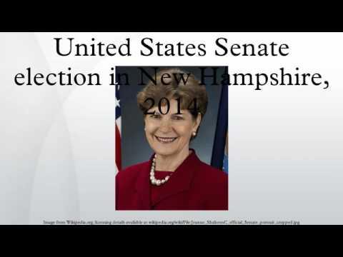 United States Senate election in New Hampshire, 2014