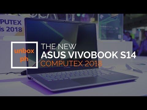 COMPUTEX 2018: A Look at the New Asus VivoBook S14 - YouTube
