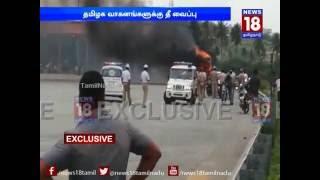 Cauvery dispute: Protests and violence in Karnataka | News18 TamilNadu