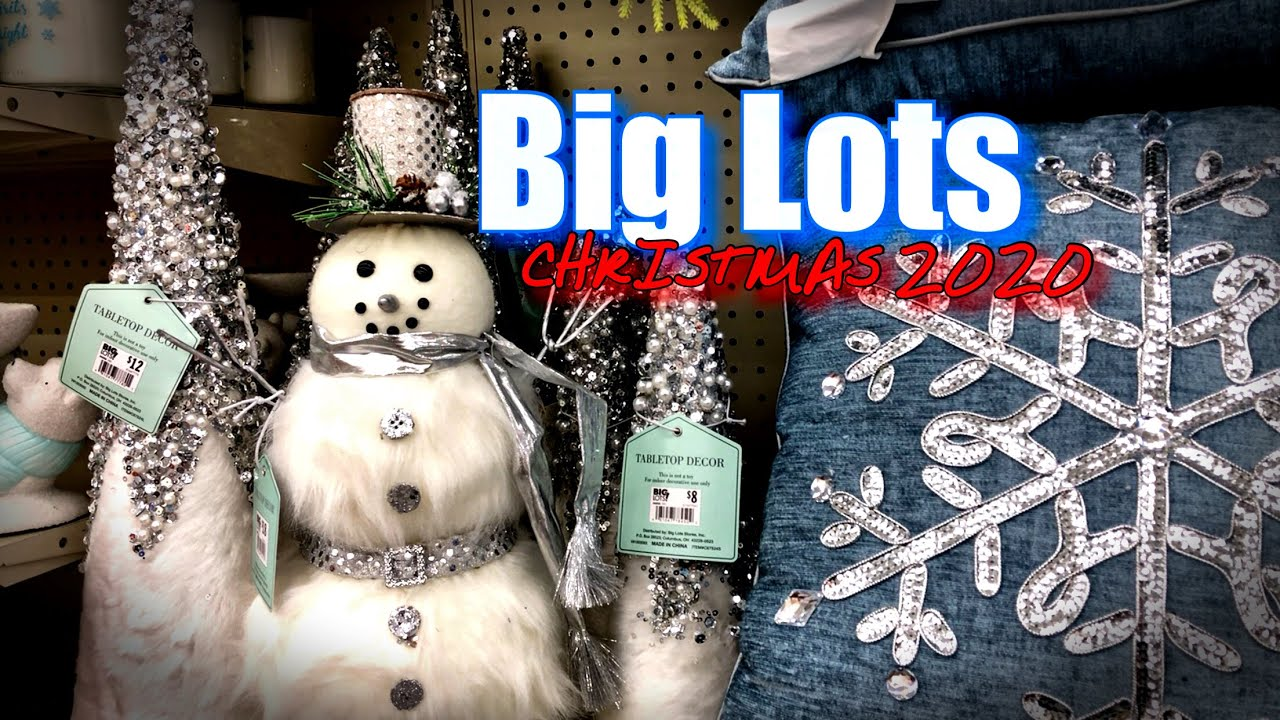 Biglots Deals On Christmas Decorations 2020 CHRISTMAS 2020 • Big Lots CHRISTMAS DECOR 2020 IS HERE • POLAR