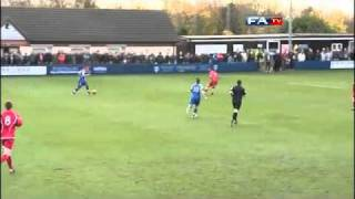 Swindon Supermarine 2-1 Eastwood Town - The FA Cup 1st Round - 06/11/10