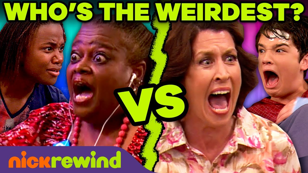 Freddie's Mom vs. André's Grandma 🤪 Who's Weirder? | iCarly & Victorious